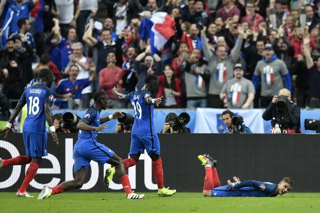 Les Bleus ont signé une convaincante victoire de... (Martin Meissner, Associated Press)