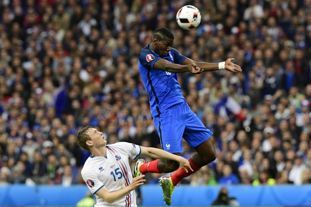 La formation de Didier Deschamps est devenue la... (Photo AFP)