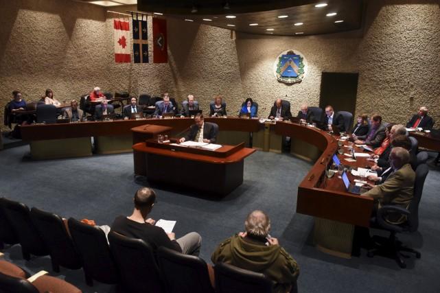 Le conseil municipal de Trois-Rivières pourrait se prononcer... (François Gervais)