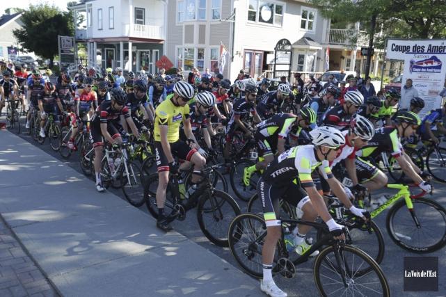 Pas moins de 219 coureurs ont pris part... (Catherine Trudeau, La Voix de l'Est)