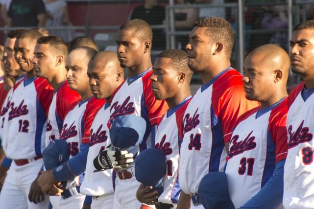Les joueurs cubains ont apprécié disputer des matchs... (Sylvain Mayer)