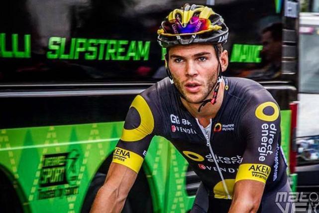 Antoine Duchesne a terminé les 182 kilomètres reliant... (Photo tirée d'Instagram)