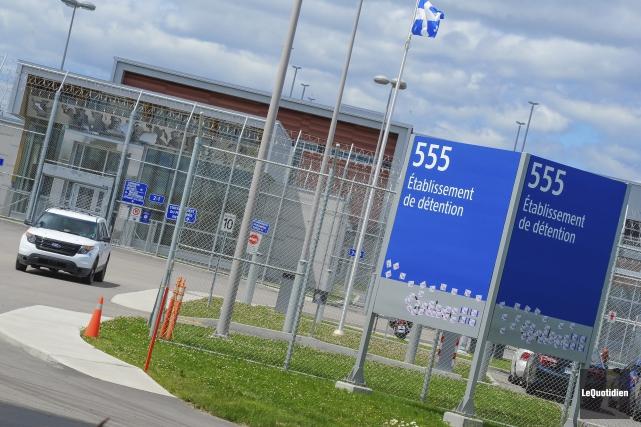 La prison de Roberval a été le théâtre... (Photo Le Quotidien, Gimmy Desbiens)