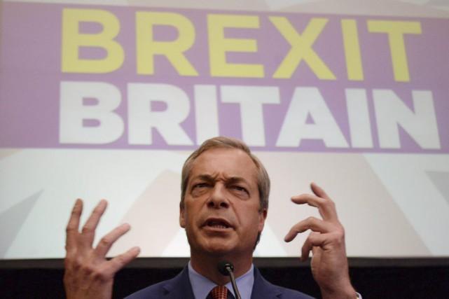 «Mon objectif de sortir de l'UE est atteint... (PHOTO STEFAN ROUSSEAU, AP)