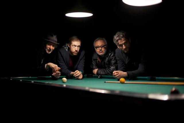 Erik Truffaz (à gauche) accompagné des trois autres... (PhotoHamza Djenat, fournie par Spectra)