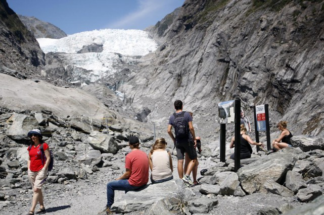 Les températures en Nouvelle-Zélande étaient, ces six derniers... (PHOTO Nick Perry, ARCHIVES AP)