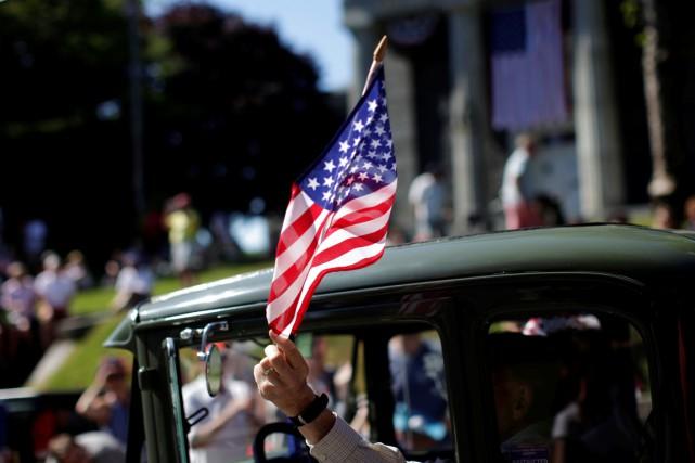 Les Américains fêtent, en ce 4 juillet, le... (PHOTO Mike Segar, REUTERS)