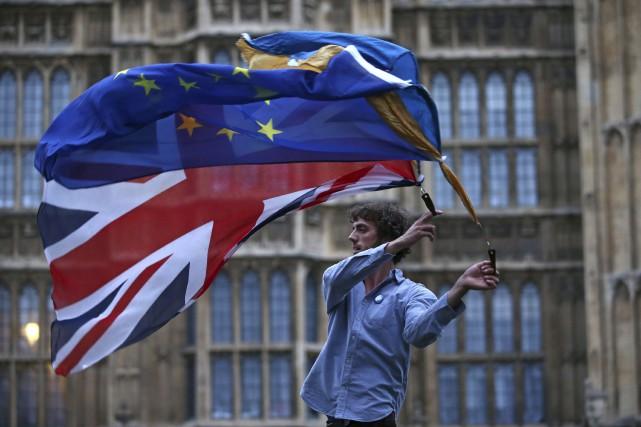 La décision du Royaume-Uni de claquer la porte... (AFP, Justin Tallis)