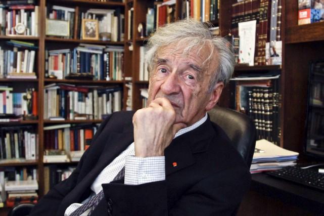 Elie Wiesel... (Archives AP)
