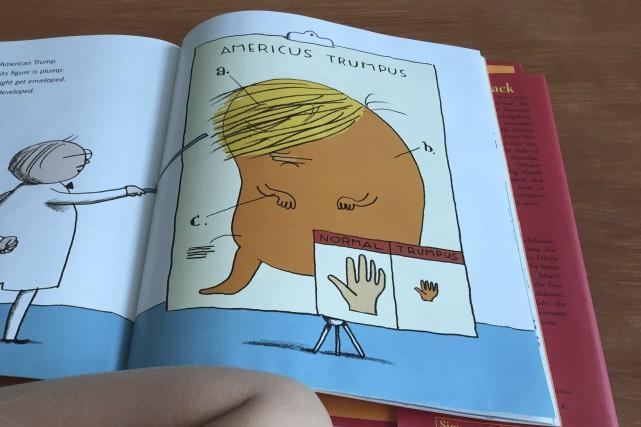 Un livre satirique pour enfants présente Donald Trump... (AFP, Thomas Urbain)