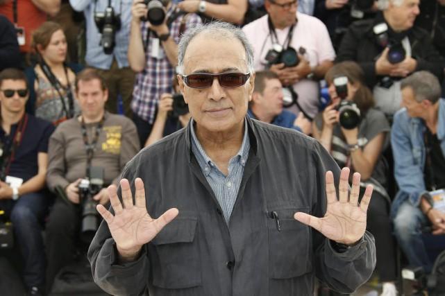 Abbas Kiarostami en mai 2014... (Archives AFP)