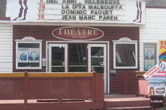 Le Théâtre des Quatre Soeurs a fermé ses... (Archives, LeDroit)