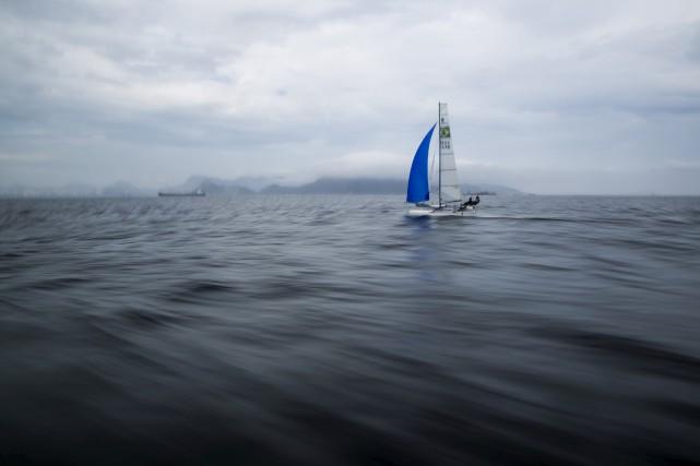 L'état de la baie de Guanabara inquiète les... (AP)