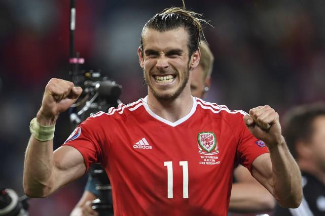 L'attaquant du pays de Galles Gareth Bale se... (AFP, Paul Ellis)