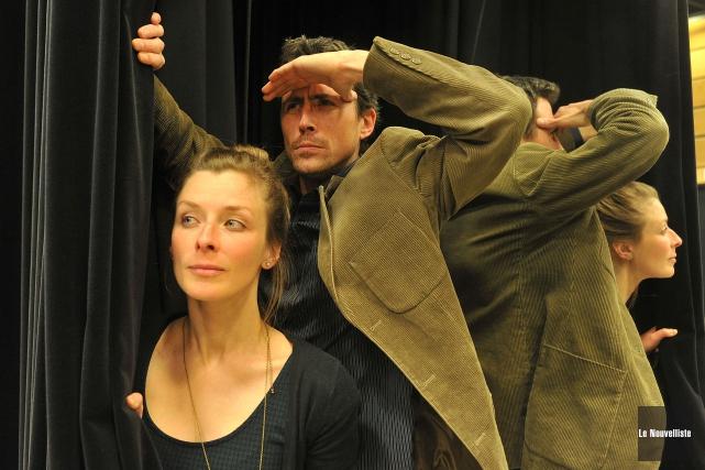 Luc Kenline et Cindy Rousseau... (Archives Le Nouvelliste)