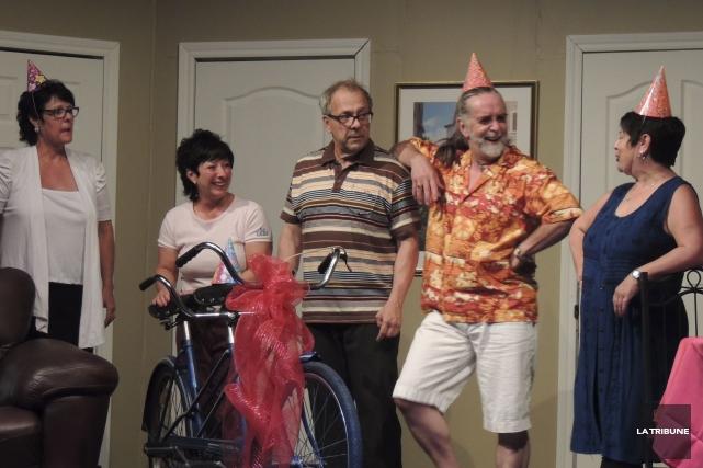 Dans cette scène de Papa, sors des boules... (La Tribune, Ronald Martel)