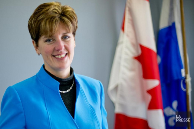 Marie-Claude Bibeau, ministre du Développement international... (PHOTO DAVID BOILY, Archives LA PRESSE)