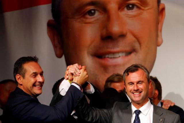 Le candidat à la présidentielle autrichienne Norbert Hofer.... (PHOTO HEINZ-PETER BADER, REUTERS)