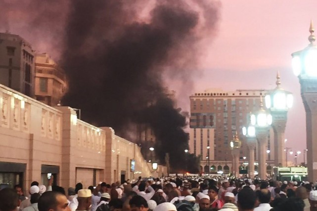 L'attaque de Médine, deuxième ville sainte de l'islam... (Photo Noor Punasiya via AP)