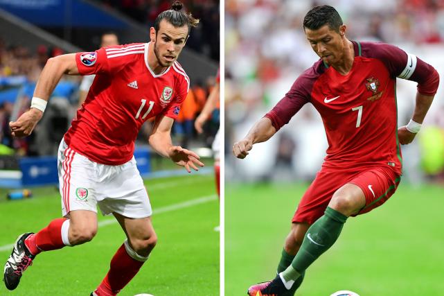 Coéquipiers avec le Real Madrid, les attaquants vedettes... (Photos AFP)