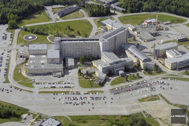 Près de 350 postes seront affichés sous peu au Centre intégré universitaire de... (Archives La Tribune, Maxime Picard)