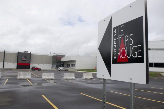 Le cinéma Le Tapis Rouge reprendra ses activités... (Stéphane Lessard, Le Nouvelliste)
