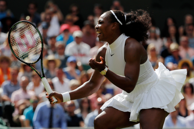 Serena Williams a défait la Russe Anastasia Pavlyuchenkova... (Photo Ben Curtis, AP)