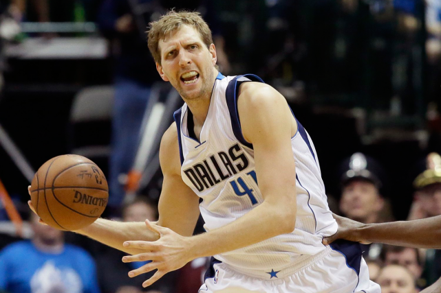Dirk Nowitzki... (Photo LM Otero, AP)
