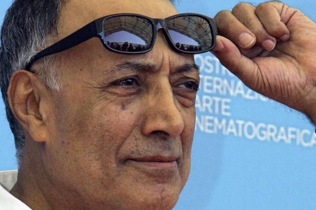 Abbas Kiarostami à la Mostra de Venise en... (PHOTO ARCHIVES AP)