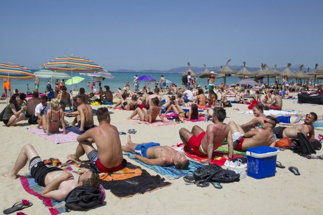 La plage de Palma, la capitale.... (PHOTO AFP)