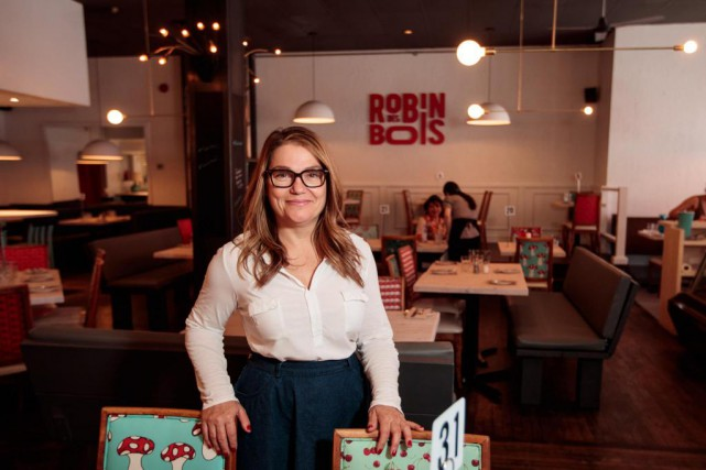 Judy Servay, directrice générale du restaurant Robin des... (PHOTO HUGO-SÉBASTIEN AUBERT, LA PRESSE)