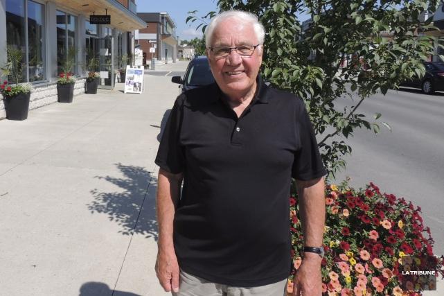 Le promoteur Pierre Bédard rêve, depuis plusieurs décennies,... (La Tribune, Ronald Martel)