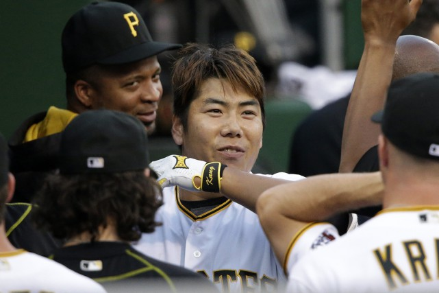Jung Ho Kang... (PHOTO Gene J. Puskar, archives AP)