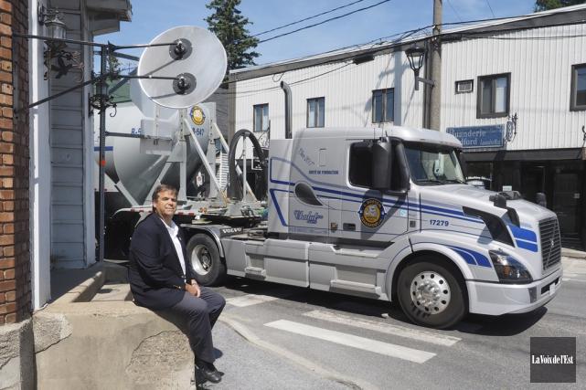 Le maire de Bedford, Yves Lévesque, déplore l'inaction... (Janick Marois, La Voix de l'Est)