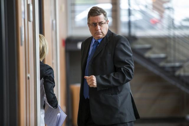 Alain Fournier poursuit sa bataille juridique contre le... (Olivier Croteau)