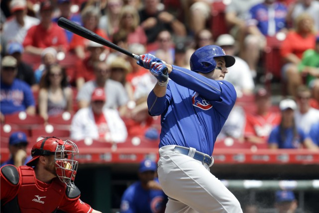 Anthony Rizzo a dominé la Nationale avec 3,2 millions... (PHOTO John Minchillo, AP)