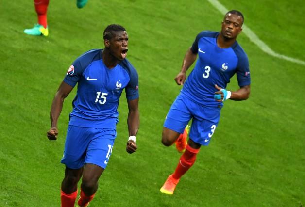 Devant ses partisans, la France tentera de vaincre... (AFP)