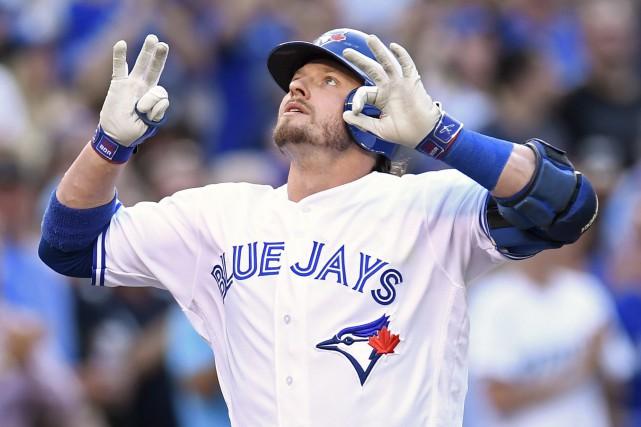 Josh Donaldson a démontré mardi soir qu'il n'avait... (La Presse Canadienne, Frank Gunn)