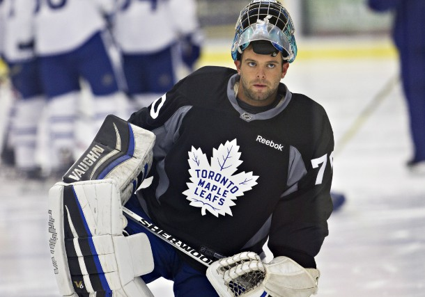 Anthony Brodeur aura sa chance avec les Maple... (PC)