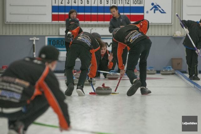 Le Club de curling Kénogami aura 100 ans... (Archives Le Quotidien)
