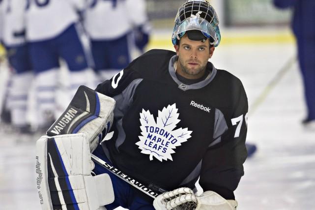 Invité au camp de développement des Maple Leafs... (La Presse Canadienne, Aaron Lynett)