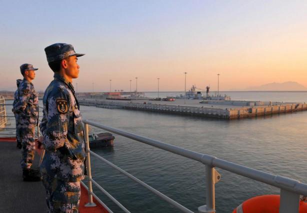 Toute la semaine, la Chine mènera un exercice... (PHOTO ARCHIVES REUTERS)