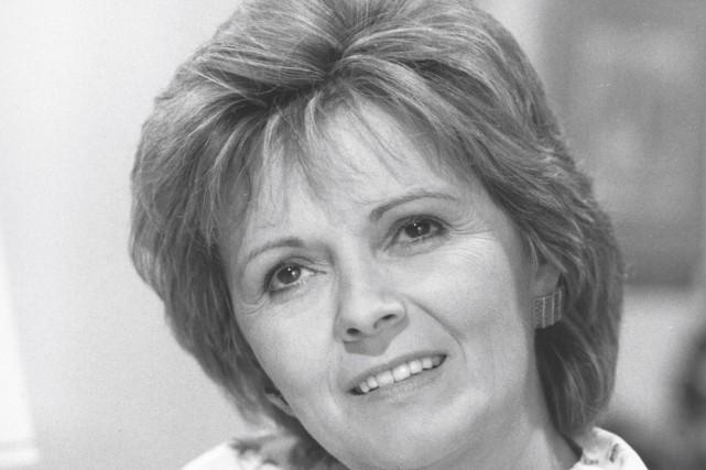 La comédienne Louise Rémy... (Société Radio-Canada)