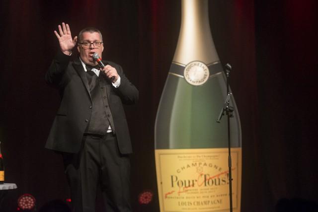 Le comédien Louis Champagne a fait hier soir,... (Spectre Média, Julien Chamberland)