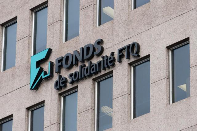 Les investissements du Fonds de solidarité FTQdans les... (PHOTO LA PRESSE CANADIENNE)