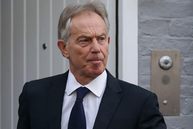 L'ex-premier ministre britannique Tony Blair... (Archives AFP, Daniel Leal-Olivas)