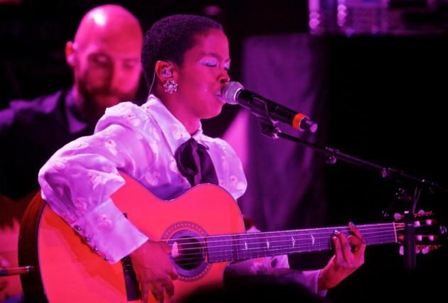 Lauryn Hill est de retour à la salle... (Photo André Pichette, La Presse)