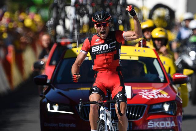 Le Belge Greg Van Avermaet a remporté la... (Photo Lionel Bonaventure, AFP)