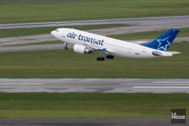 La compagnie aérienne Air Transat s'est classée au... (Photothèque La Presse, Patrick Sanfaçon)