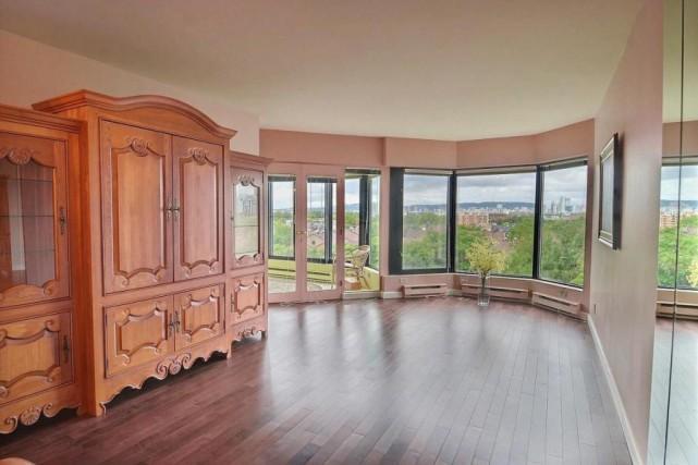 Cet appartement de L'Île-des-Soeurs a été vendu 273... (Photo fournie par la courtière)